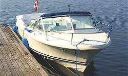 Original Owner (bought as a demo from Admirals Marina - Honey Harbour). Lightly used as family runabout on Georgian Bay and now Lake of Bays. Excellent running order. Carefully maintained at Admirals and now CW Marine. Newer tonneau. Relocating to
