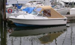 High Quality Deep Vee Runabout. Day boating, commuting, fishing and maybe even overnighting. Well designed, well built and well finished, Limestone boats represent excellent enduring value. Call to arrange viewing. Key Features: Mercruiser 165 hp, 4