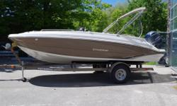 BRAND NEW 2015 192 SPORT DECK. FAMILY FUN ON THE WATER. MOORING COVER, BIMINI TOP, SUN LOUNGE, SINK, STEREO....POWERED WITH A YAMAHA F115HP 4 STROKE. CONVENIENCE PACKAGE. STAINLESS STEEL HARDWARE. TRAILER EXTRA.