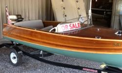 Perfect complete restoration on this Canadian Built Classic done by professional restorer. Bottom has been glassed so boat is ready for daily trips. Sitting on North-land trailer. Can been seen 7 days a week Located at Northern Leisure Marine Bobcaygeon