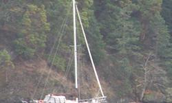 This is a great boat for cruising or even comfortable live aboard. Has fully enclosed center cockpit and separate master stateroom with head.Sleeps 6 comfortably and is a very dry boat. Has a reliable Perkins diesel that runs perfectly and is a sturdy