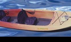 The Caribe is half sit-on-top kayak, half canoe, and all FUN! Retail $1.090 Clearance Price $767