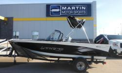 $76 Bi-Weekly A fisherman's dream, this 2013 Legend 16 Xcalibur features a live well, full enclosure, anchor light and rod holders. Mercury 50 Engine 6-Person Seating Capacity Analog Dash Display Bimini Top Cup Holders In-Floor Storage Other Storage Snap