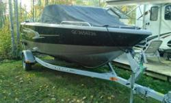 Here is a one time opportunity to get your dream fishing boat! This boat features all that is necessary for comfortable fishing and incorporates the Princecraft quality. Power train is a 175HP MercuryVerado with the 9.9 Mercury 'kicker'. All controlled