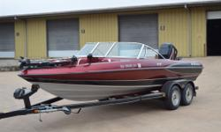 "This is a 1999 Triton SF-21 ski/fish boat. Very clean 21ft boat. Has a 2008 Mercury 150 EFI motor with under 20 hours. The stereo system has a 10"" Alpine type R sub with a custom ported box built in the front left compartment and sounds great. Live well"