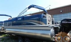 Looking for a mid-sized pontoon thatâ??s easy on the wallet and tough on the fish? The SF214 is your answer. It features 4 pedestal fishing seats, a built-in tackle box, vertical rod-holders, a 13-gallon aerated livewell, and a generous 7â?? bow rod
