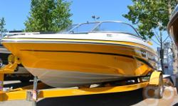 At a nimble, yet extremely spacious, 19.5 ft, the Q5 SF is a one of a kind ski-fish thats ready to fulfill everyone's wishes! For the daredevils, it sports amazing performace abilites, a stainless steel ski tow ring, huge aft swim platform and plenty of