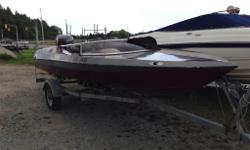 SUPER SIDEWINDER!! Decent old ski boat with a good running 1995 Johnson outboard. Windshield is in great shape (rare for these boats) CALL OR EMAIL FOR MORE DETAILS (705)721-8486 visit us at www.bluemoonmarine.net