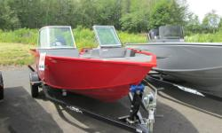 2013 LOWE FISH AND SKI COMES WITH - 90 HP 2 STROKE OUTBOARD - TILT STEERING - VINYL FLOOR IN COCKPIT AREA - SWIM PLATFORM WITH REBOARDING LADDER