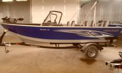 MSRP $36,550 plus freight and pdi - Buy our instock Boat for only $29,995. This Starcraft Aluminum Fishing Boat is the perfect cottage boat or family fishing boat. The 176 Starfish features a beautiful deep Vee, Starcraft Power Track hull and a wide 92