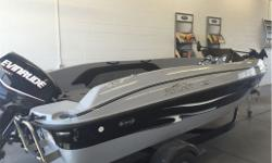 Just traded in. Great combination family fun boat. 17 foot, Front trolling motor live wells fishing seats as well as stainless ski bar and lots of power when it's time to play. The 115 Evinrude E TEC outboard can't be beat in this size range. A custom