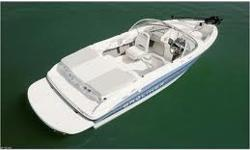THIS BOAT HAS PREFERRED EQUIPMENT PACKAGE,SPORT DECK, DUAL BUCKET SEATS, SWIM PLATFORM, BOW WELL & COCKPIT COVER AND UPGRADED BUCKET SPORT SEATING. *UPGRADED/HIGH CAPACITY TRAILER. *3.0L MERCURY ENGINE