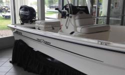 2015 Mako Pro 16 Skiff CCThe price as shown includes a 25 ELPT Fourstroke Engine, and a custom aluminum tandem-axle trailer with brakes.Price does not include freight, PDI or taxes.
