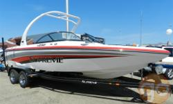Sold! - It's big and its bold. With traditional body lines and its wide beam design the V232 is poised perfectly to maximize the fun for a day on the water. Load up a dozen of your family and friends and head out to the water for that day to remember.