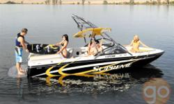 The 208 is the ideal family VDrive that allows for comfort, space and performance into one package. After a day on the water, the 208 tucks easily into a standard size garage. Big yet small, this boat does it all! , , INDMAR 335 HP ENGINE, VDRIVE, CENTER