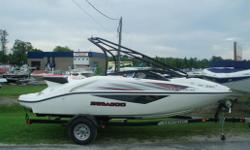 New arrival! This is a beauty. Comes equipped with trailer, snap in carpets, tower, stereo system and more! Call today!