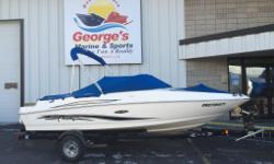 2011 Sea Ray 175 SportThis 2011 Sea Ray 175 Sport is in great condition! It's fully loaded with everything you need for an enjoyable day on the water with friends and family. Since the unit was winterized with us in 2015, we know the boat is ready to go
