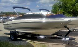 See www.bayviewyachtharbour.com website for full details. Show off the uncompromising performance and elegant style of the 204FS Sport Boat. Standard features include gunwale cup holders, power and tilt steering, plenty of bow area seating and storage. An