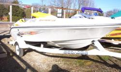 An excellent Seadoo Jet boat . Large enough to pull skiers and tubes, small enough to easily trailer around and fit in your garage. This boat has little use and is in good condition.
