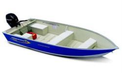"2011 Princecraft Springbok 20 - 16', 68"" wide aluminum fishing boat features semi-v hull, H36 aluminum, rear splashwell, twin plating at the chine, high gloss exterior paint, battery/storage compartment, lifetime warranty.  9.9 - 30hp Mercury, trailer"