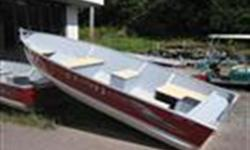"Price for boat only, Engine & Trailer sold seperately Specifications Beam: 70"" Approx. Wt. (lb): (15"") 285 lbs (20"") 295 lbs Maximum HP: 35 HP Transom Height: 15"" or 20"" Length Overall (LOA): 168 Model Name Length: 168 Standard Equipment Aluminum Encased"