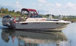 "Boathouse Kept, Very Stable 11'11"" Beam, Engines rebuilt In 1991, C/W Polaris Dingy, Lots Of Wood Trim, Very Large Aft. Cabin, Boat Is In Great Condition, Professionally Maintained. Boathouse Also Available."
