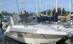 As new low hour cruiser with excellent layout. CONSIGNMENT BOAT