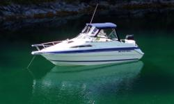 Wellcraft legendary design, just out of 8 year dry storage. Volvo 5L Ford with FL leg. Recent manifolds and risers, fresh water cooled. New top enclosure, new batteries, recent tune and oil chg. Never left in the water, trailered if not in use. Marine