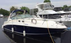 Here's a blue beauty, Priced to Sell. 320 Sundancer with twin 350 MAG MPI VDrives. 545 hours and is loaded. AC/heat, Generator, twin fridges, Raymarine chart plotter and radar, extended swim platform. I have all service records from purchase in 2010.