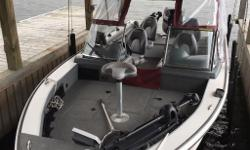 Excellent condition fishing boat with many upgrades! Used on Lake of the Woods and expertly maintained, this 2006 Polar Kraft has been upgraded to become the ultimate fishing machine. It is powered by a 225HP Evinrude outboard, 9.9HP Johnson swivel