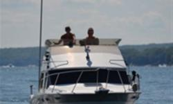 This Contessa Flybridge is currently located in Honey Harbour in Georgian Bay. This wonderful family cruiser has been thoroughly enjoyed by her 2nd owner since 1985. She travelled from Honey Harbour to Regatta Bay and back last August and she ran