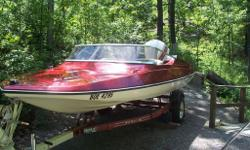 CONSIGNMENT SALE 1985 TEMPEST PKG $2995.00 SPRING IS HERE AND JUST IN ON CONSIGNMENT IS A NICE 15 FOOT 1985 TEMPEST SPEED BOAT PKG. IT HAS A 115HP JOHNSON V4 ENGINE ON IT, INCLUDES TRAILER, THE BOAT WAS SERVICED AND WITERIZED HERE AND STORED. IN VERY GOOD