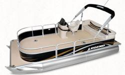 CALL FOR ENGINE AND TRAILER OPTIONS Imagine it. Do it. Enjoy the pontoon lifestyle for less than you thought. Your options are only limited by your imagination. Cruise, fish, hunt, camp, sunbathe, swim, relax, entertain (deep breath) haul, transport,