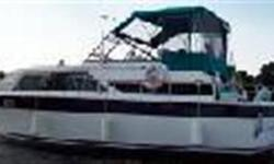 1973    36 TROJAN TRI CABIN          This Classic Trojan Tri Cabin design had a long production run, many are still in the water giving great service to their owners. The interior of the salon has been extensivly changed. The forward v berth and head have
