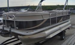Best Value on the Water - 2013 Sunchaser 8520 Tritoon on Sale at Marsh's Marina only $25,955 - price includes: - Mooring Cover - Ski Bar - Bimini top - tri toon - underliner - Performance strakes - 90 Hp Yamaha - high back helm And Trailer!!!!! Only