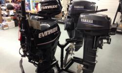 New Yamaha & Evinrude short-shaft trolling motors