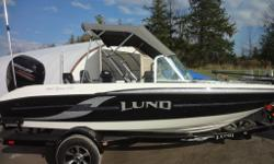 TAKE ADVANTAGE OF THE SAVINGS ON THIS 2014 MODEL LUND ONLY 1 LEFT!!! THIS BOAT IS SELLING FOR $10,000 LESS THAN NEW 2015 MODEL COME SEE ONTARIO'S LARGEST INDOOR LUND SHOWOOM, OPEN ALL YEAR ROUND Our fiberglass boat series is designed with all the features