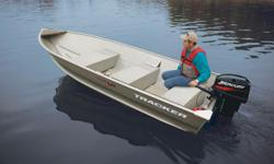 *** HULLY GULLY MARINE SALES ***The TRACKER�® Guide V-14 (boat only) provides boaters with a lightweight, yet extremely durable, utility boat. It is constructed using with a one-piece welded aluminum hull. This means that you can take it out for years of