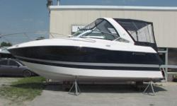 Brand New 2015 Four Winns V275!! Options Include Volvo Penta V8-300/DP, camper canvas, bimini top, dockside power, arch, remote spotlight, swim platform, underwater lighting, windlass anchor w/rope, cockpit carpet, compass, Garmin GPS, bolster helm seat,
