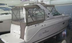 Fun doesn't have to cost a fortune! Like new, compact and economical to run, this 27' express cruiser has low, low hours. The wide beam maximizes cabin space, welcoming family and friends comfortably with a forward V-berth, convertible dinette and a
