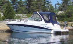 Why buy new when new boats depreciate so quickly. Original retail on this crusier when new was $174000 and current NADA book value is $82763 (59630 USD). Its time to start a new chapter in our lives so we're listing this vessel for $69000 (49734 USD) to