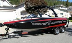 This 2008 Wakesetter VLX is a wakeboarders dream? Producing a world class wake it is a favorite of many pro level riders! Extremely well kept, this ?setter will produce a surf wave in a class of its own. Ready to ride and priced for a quick sale.