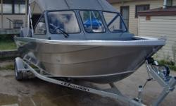 In Stock and Ready! 2014 King Fisher Warrior 1825 with a 70 Hp Suzuki and Trailer only $27,995 plus freight and pdi. This heavy gauge welded aluminum boat is extremely tough and Canadian Built. Better fit and finish than a Stanley this is a perfect