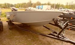 Now available in Canada - One left stock 2014 Smokercraft 16 Lodge. This welded aluminum boat features a deep V - all welded hull and is priced with a New EZ Loader Trailer and a 2014 Suzuki 40 hp Tiller - This package is on sale at Marsh's Marina call
