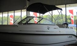 Come to Gordon Bay Marine and check out why Boston Whaler describes the Ventura as the Sport Utility of the water. The Ventura is big, powerful, rugged and versatile whether you want to spend a day fishing, cruising or skiing. This boat is equipped with a