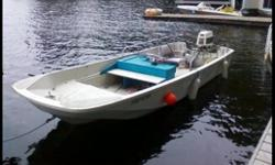 Boston Whaler, good condition, trailer included.