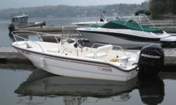 Propulsion: 2008 Merc 90 HP FS Very good condition, engine has extremely low hours on it. Specifications Length Overall (LOA): 192 Features