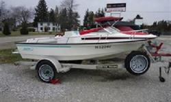 "Legendary Boston Whaler- ""the unsinkable boat design""   Includes galvanized trailer with travel cover!"