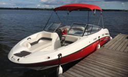 2007 210 SX jet boat for sale, excellent condition in and out, great deal at the end of the season, putting it in storage at the end of the week... 234 hours on twin engines. Asking $19,000 or best offer