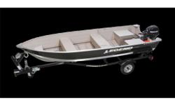 Legend 16' Wide-body Pro-Sport aluminum, live well, front and rear lights, boat cover, Mercury 25 horsepower 4 stroke engine, Easy Haul trailer